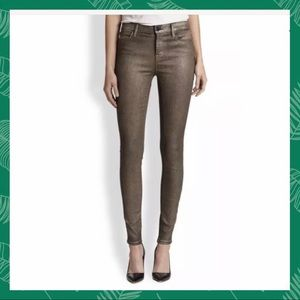 "J Brand ""Gold Dust"" Super Skinny Jeans size 30"